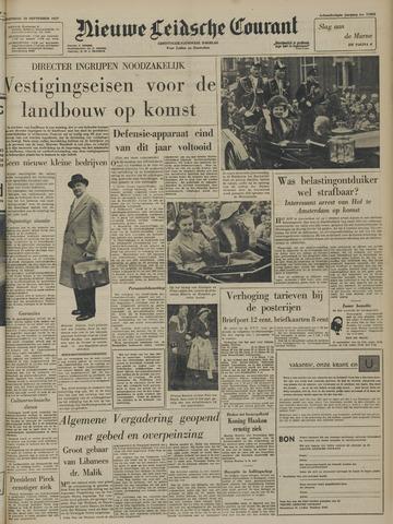Nieuwe Leidsche Courant 1957-09-18