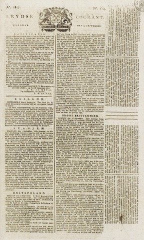 Leydse Courant 1817-09-22