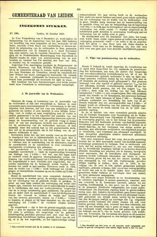 Handelingen van de Raad 1928-10-16