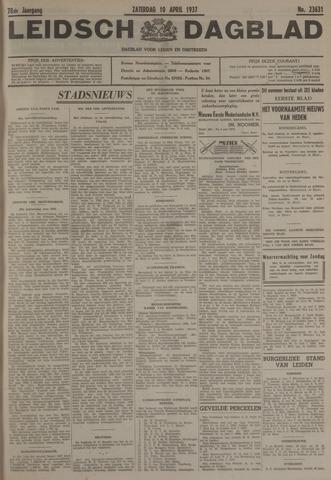 Leidsch Dagblad 1937-04-10