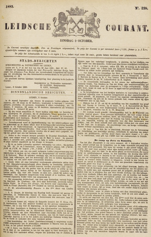 Leydse Courant 1883-10-09