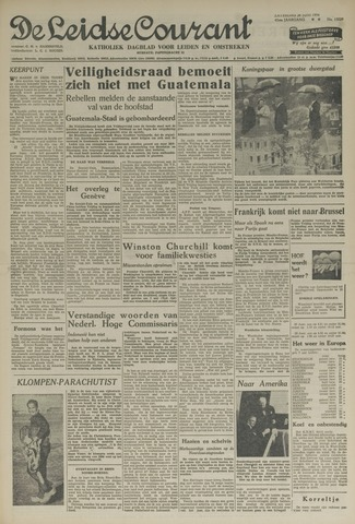 Leidse Courant 1954-06-26