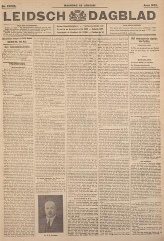 Leidsch Dagblad 1926-01-25