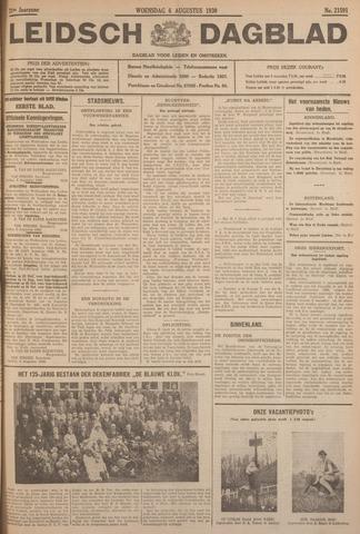 Leidsch Dagblad 1930-08-06