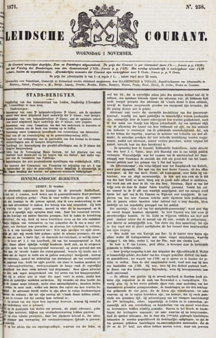 Leydse Courant 1871-11-01