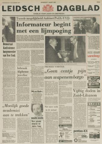 Leidsch Dagblad 1977-11-09