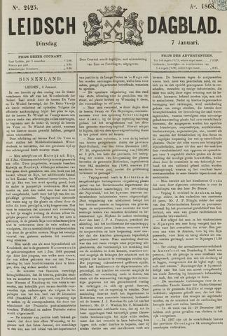 Leidsch Dagblad 1868-01-07