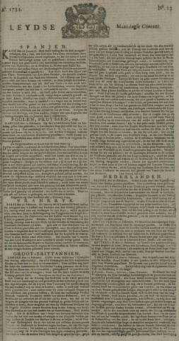 Leydse Courant 1734-02-22