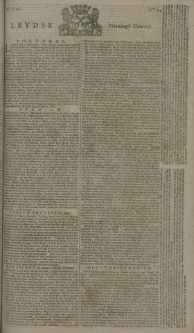 Leydse Courant 1745-02-01
