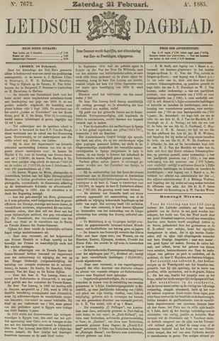 Leidsch Dagblad 1885-02-21