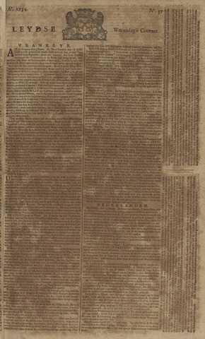 Leydse Courant 1754-03-27