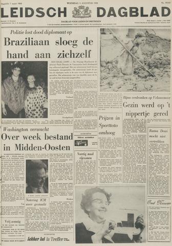 Leidsch Dagblad 1970-08-05