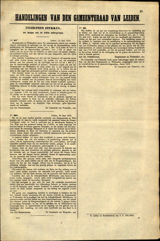 Handelingen van de Raad 1873-06-13