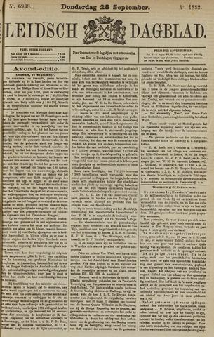 Leidsch Dagblad 1882-09-28