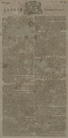 Leydse Courant 1744-01-22