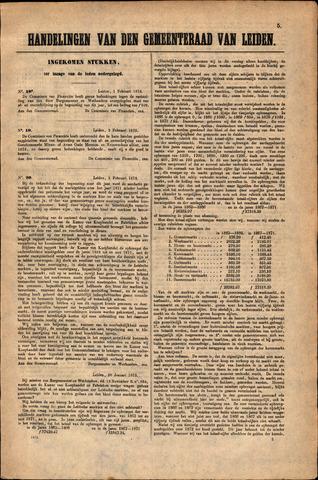 Handelingen van de Raad 1873-02-01