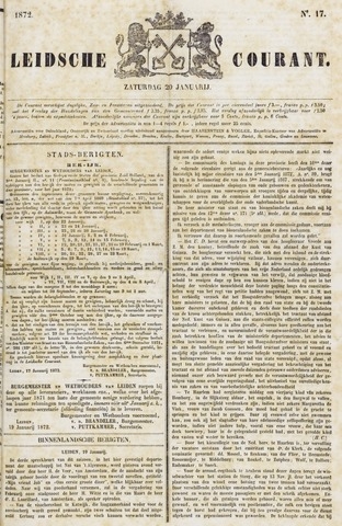 Leydse Courant 1872-01-20