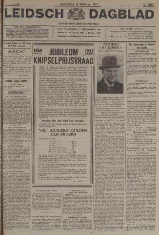 Leidsch Dagblad 1935-02-28