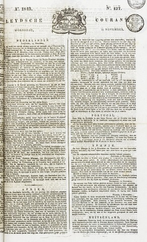 Leydse Courant 1843-11-15