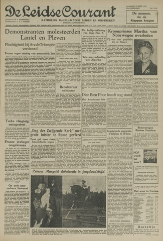 Leidse Courant 1954-04-05