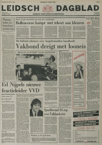 Leidsch Dagblad 1982-04-20