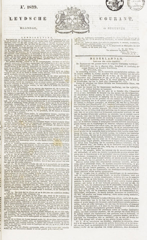 Leydse Courant 1839-08-12