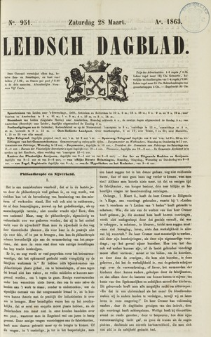 Leidsch Dagblad 1863-03-28