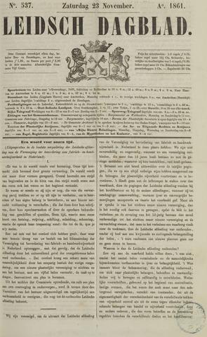 Leidsch Dagblad 1861-11-23