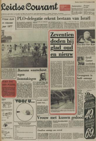 Leidse Courant 1977-01-03