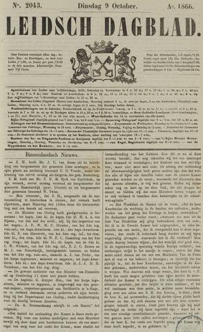 Leidsch Dagblad 1866-10-09