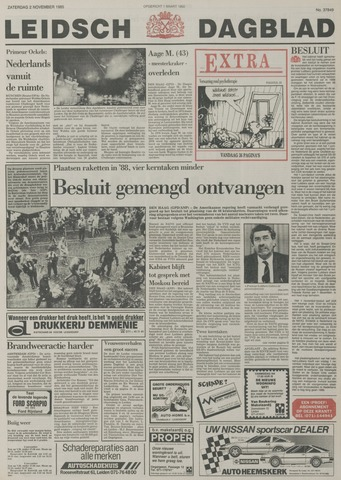 Leidsch Dagblad 1985-11-02