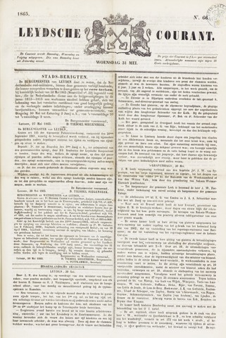 Leydse Courant 1865-05-31