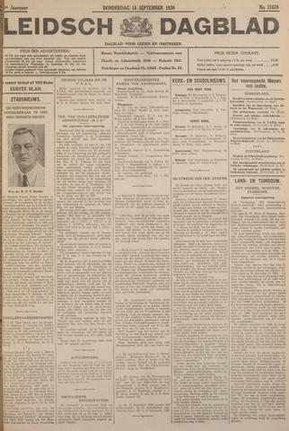 Leidsch Dagblad 1930-09-18