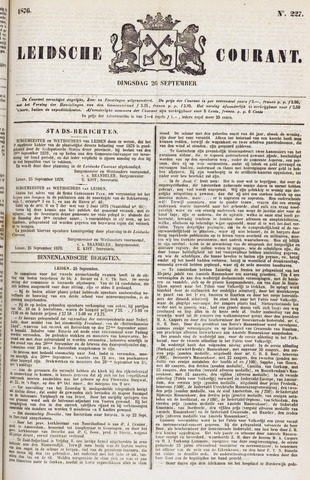 Leydse Courant 1876-09-26