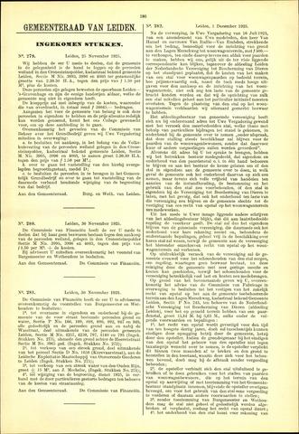 Handelingen van de Raad 1925-11-25