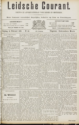 Leydse Courant 1890-02-21