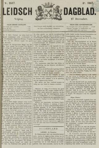 Leidsch Dagblad 1867-12-27