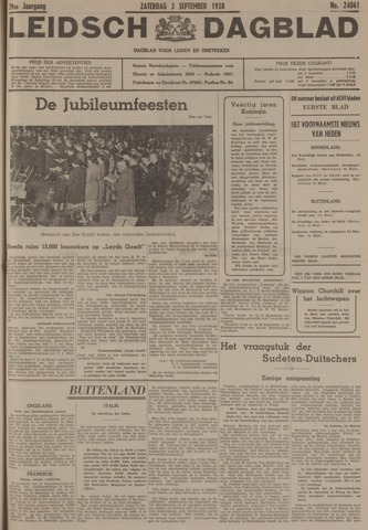 Leidsch Dagblad 1938-09-03