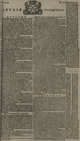 Leydse Courant 1749-02-05