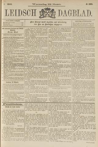Leidsch Dagblad 1893-03-22