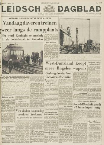 Leidsch Dagblad 1962-01-10