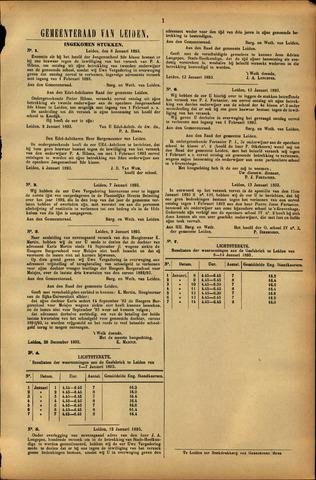 Handelingen van de Raad 1893-01-06