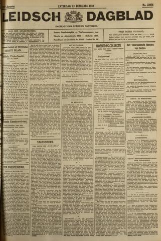 Leidsch Dagblad 1932-02-13