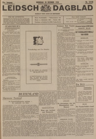 Leidsch Dagblad 1938-12-28