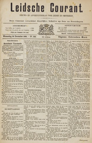Leydse Courant 1885-12-30
