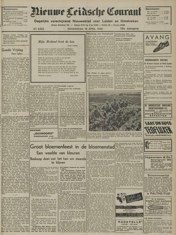 Nieuwe Leidsche Courant 1938-04-14
