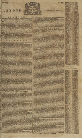 Leydse Courant 1754-10-14