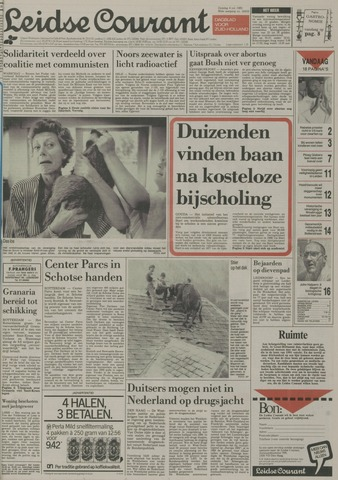 Leidse Courant 1989-07-04