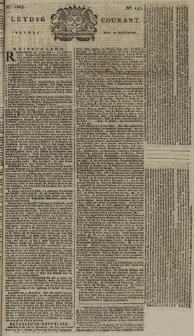 Leydse Courant 1805-11-29