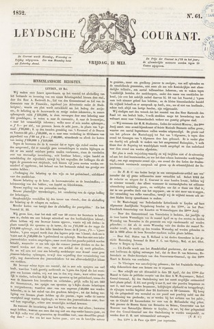 Leydse Courant 1852-05-21